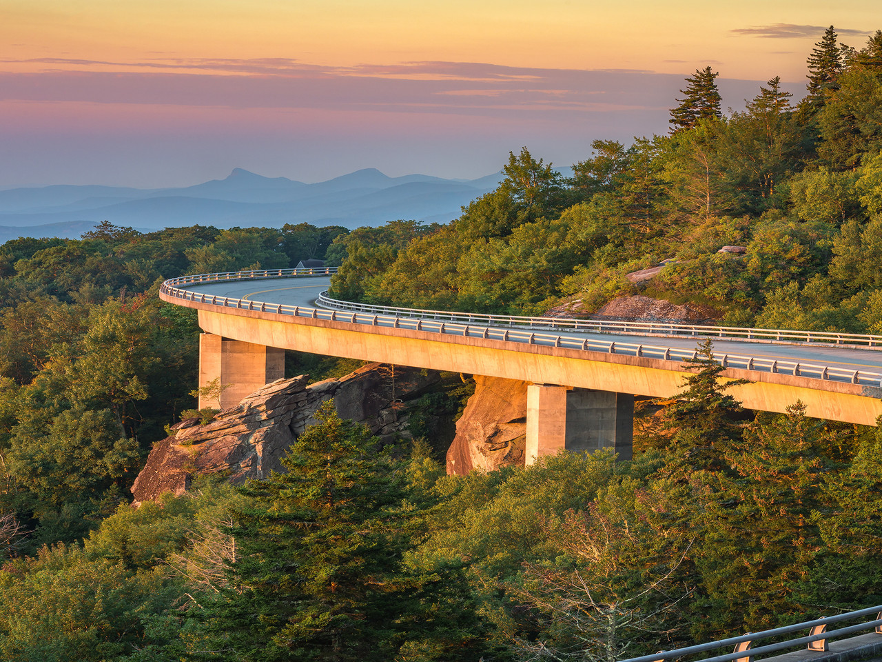 Blue Ridge Parkway i North Carolina